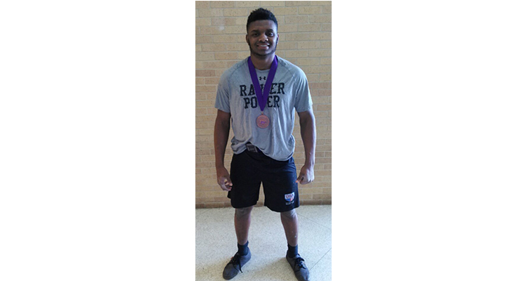 Photo for Jaytron Phillips is headed to the State Powerlifting Meet!!