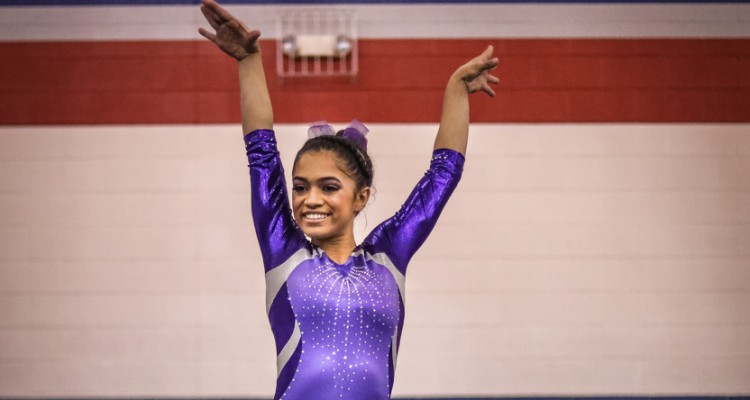 Photo for Two Rangers Place At State Gymnastics
