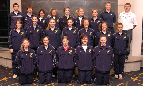 2009 Women's Outdoor Track and Field Team Photo