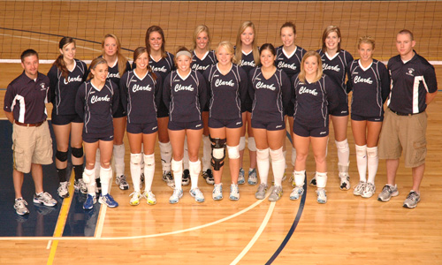 2008 Womens Volleyball Team Photo
