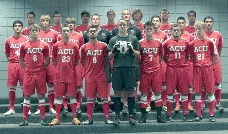 2012 Men's Soccer Rosters Team Photo