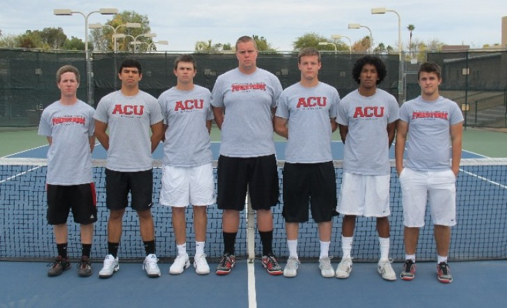 2013 Men's Tennis Rosters Team Photo