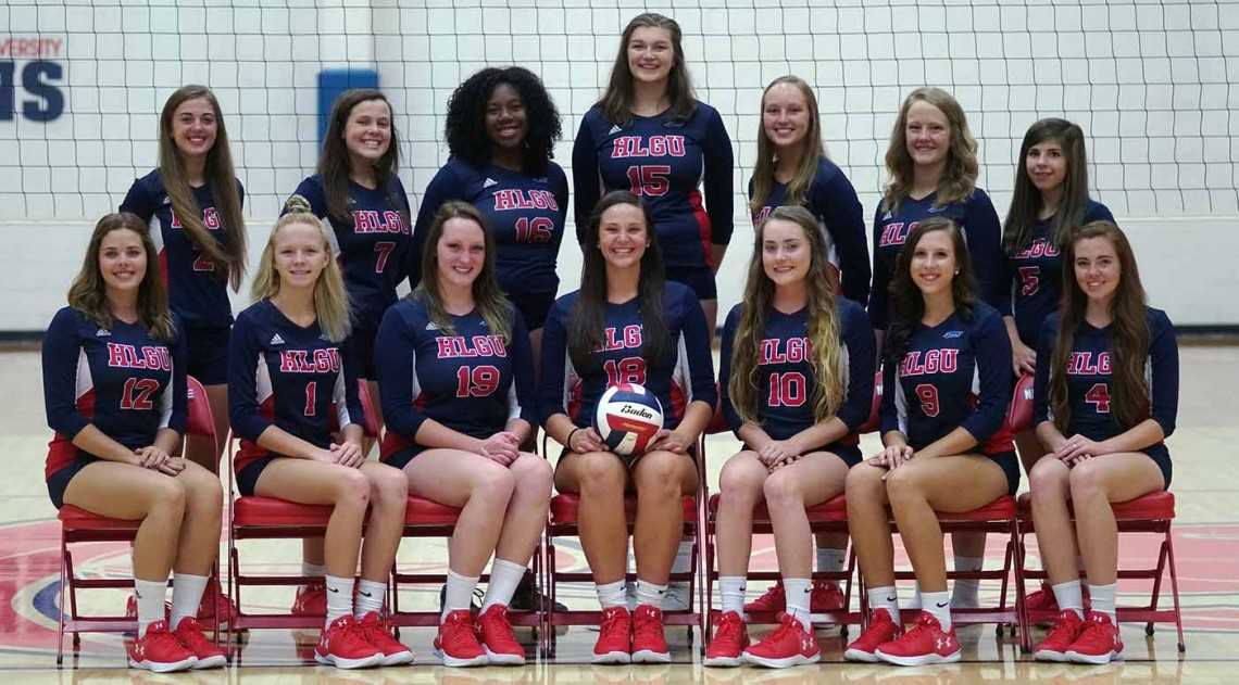 2017 Volleyball Roster Team Photo