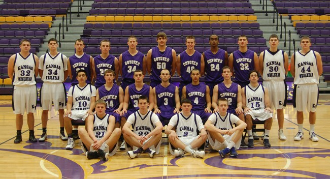 2011-12 Men's Basketball Team Photo
