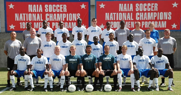 2010 Men's Soccer Team Photo