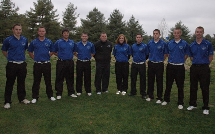 2012 Men's Golf Team Photo