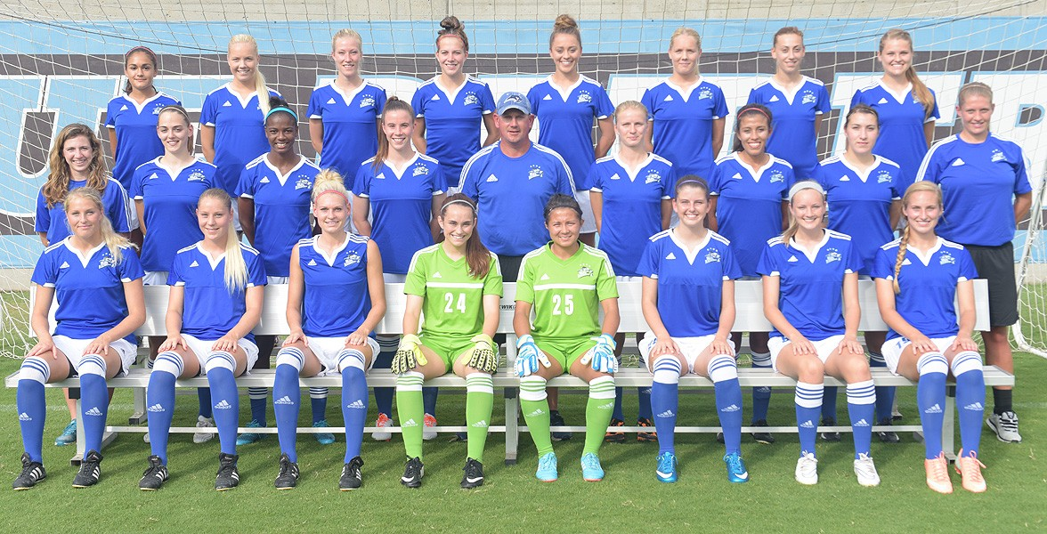 2015 Women's Soccer Team Photo