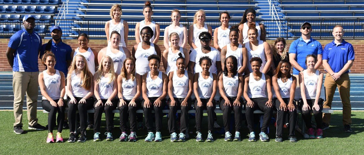 2016-17 Women's Track & Field Team Photo