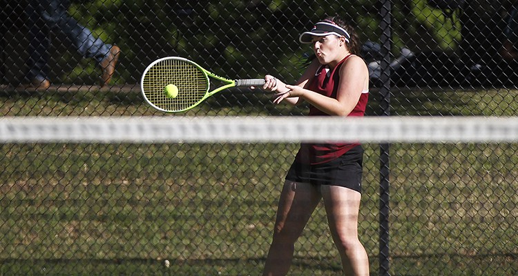 Photo for Saginaw Participates In District Tennis Tournament At TCU
