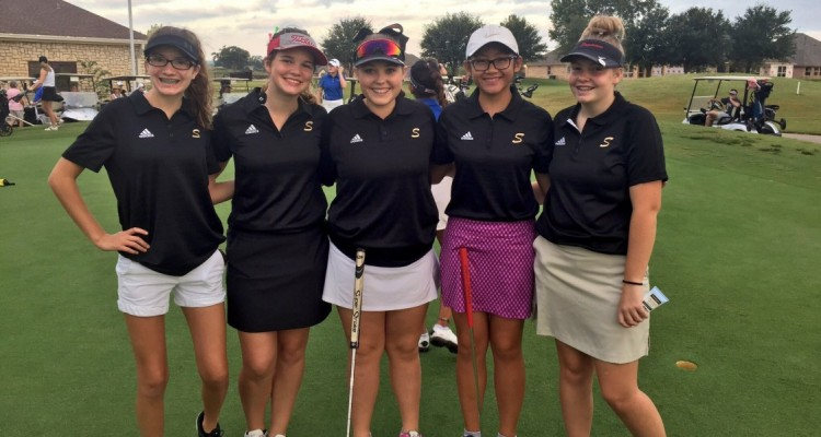Photo for Girls Golf Posts Lowest Team Round In Four Years!
