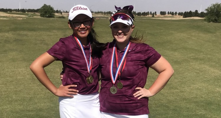 Photo for Two Lady Rough Riders Advance To The State Golf Tournament