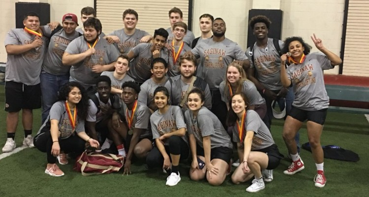 Photo for The Saginaw Powerlifting Team With A Great Start To Their Season