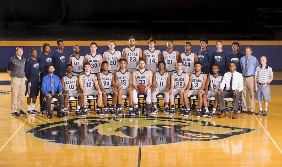 2016-17 Men's Basketball Team Photo