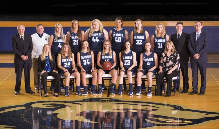 2016-17 Women's Basketball Team Photo