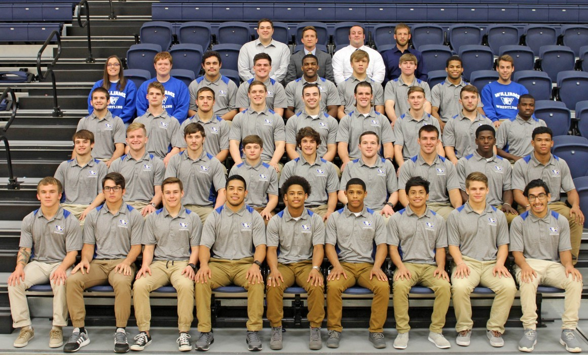 2016-17 Wrestling Team Photo