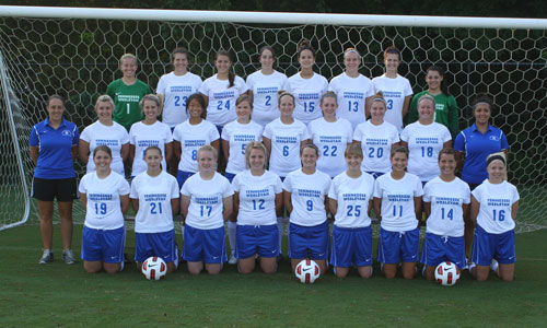 2011 Women's Soccer Rosters Team Photo