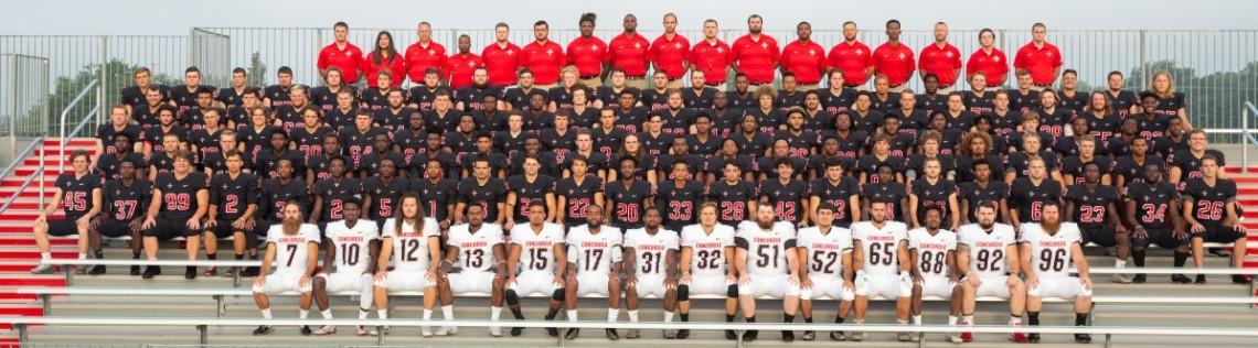 2018 Football Roster Concordia University