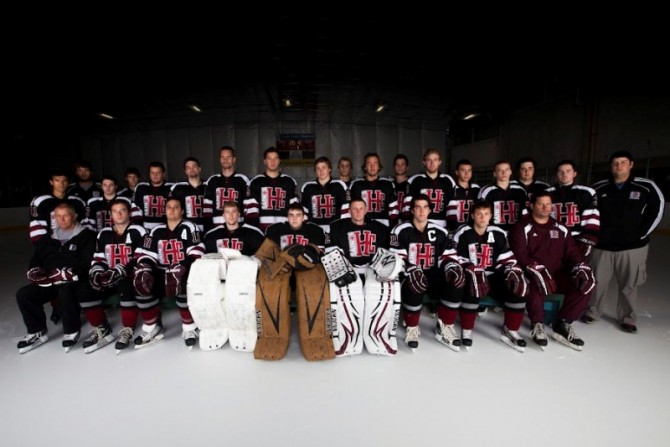2012-13 Hockey Team Photo