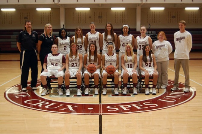 2013-14 Women's Basketball Team Photo