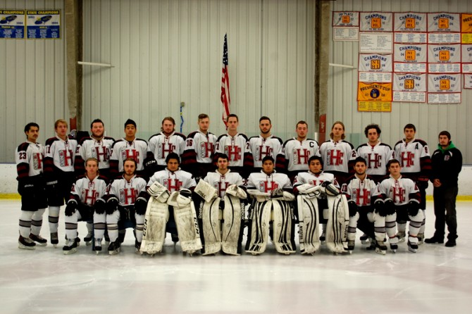 2014-15 Hockey Team Photo