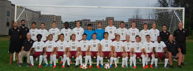 2014 Men's Soccer Team Photo