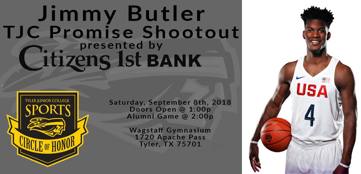 TJC To Honor NBA Star Jimmy Butler During Exhibition Basketball Game Sept 8