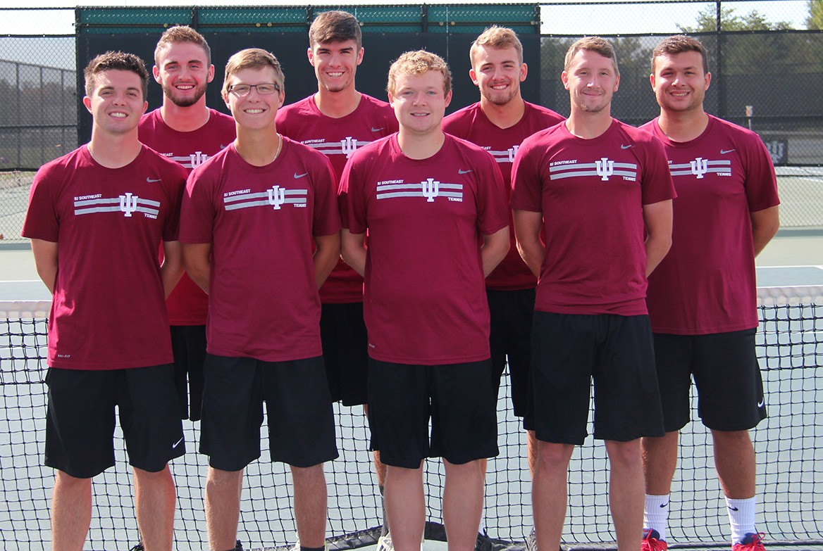 2018 Men's Tennis Roster Team Photo