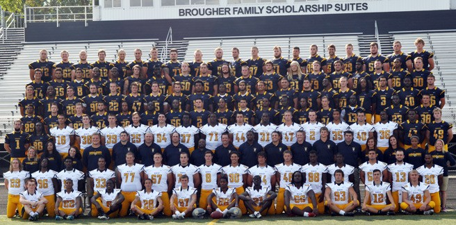 2014 Football Roster Marian University Indianapolis Athletics