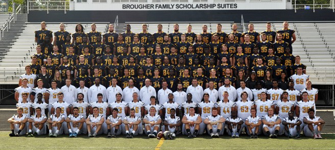 2015 Football Roster Marian University Indianapolis Athletics