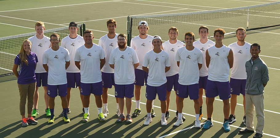 2017 Men's Tennis Team Photo