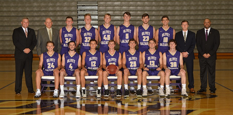 2017-18 Men's Basketball Team Photo