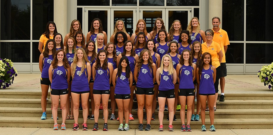 2017 Women's Cross Country Team Photo