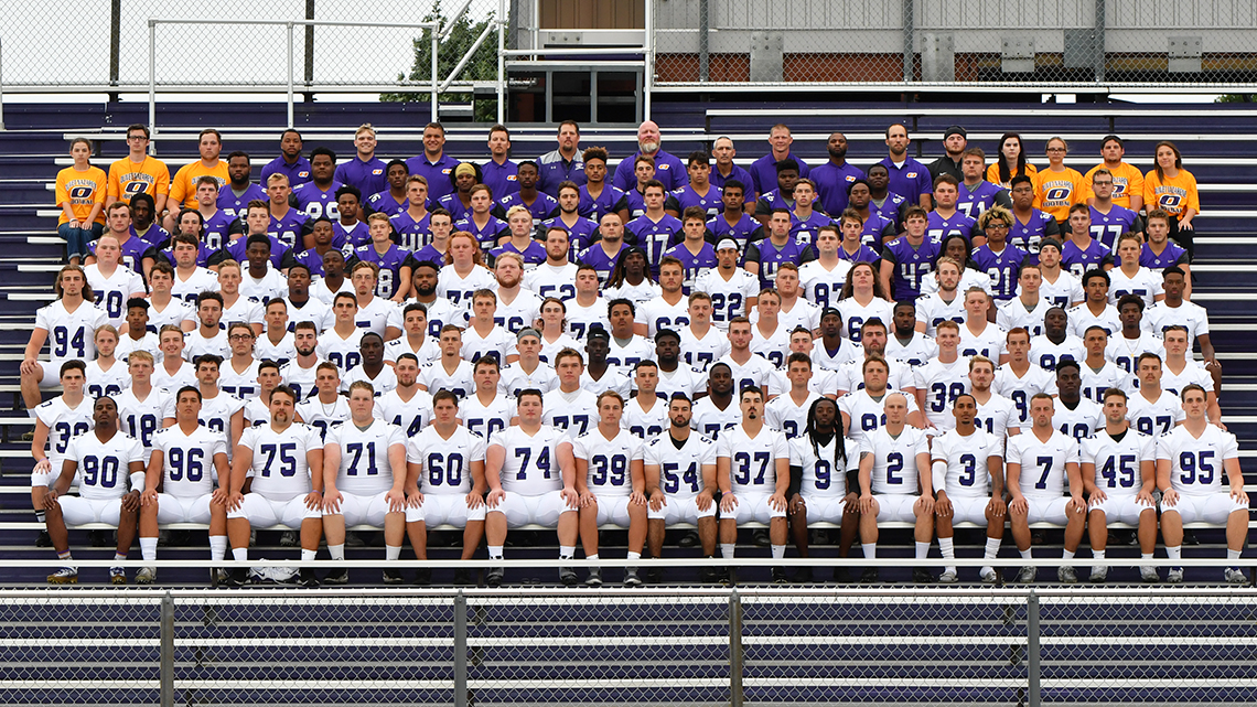2018 Football Roster Olivet Nazarene University Illinois Athletics