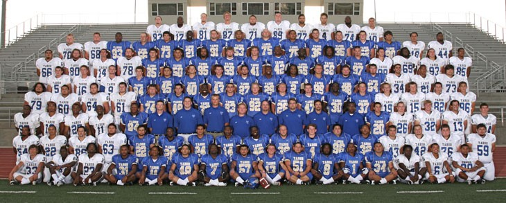 Tabor College 2011 Football Roster