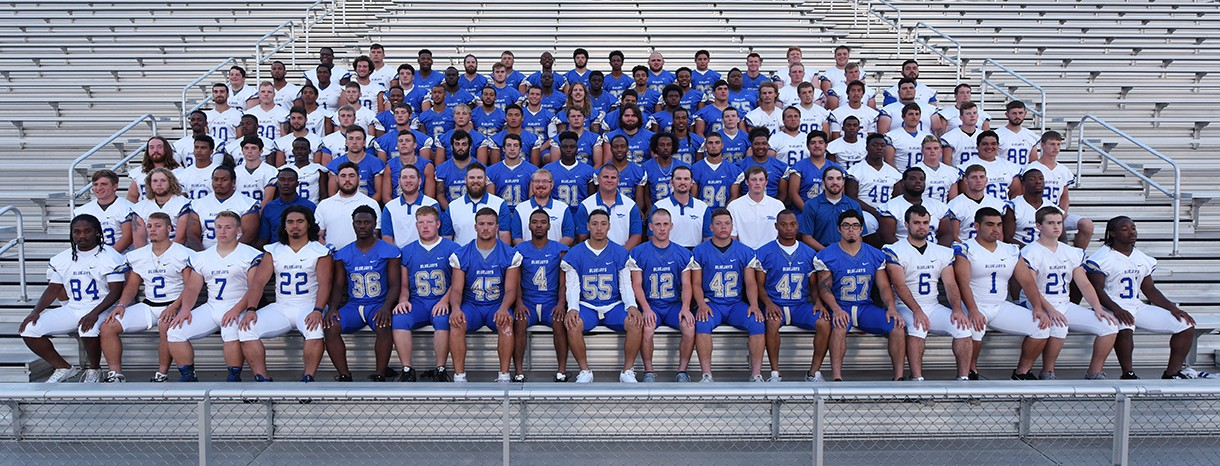 Tabor College 2016 Football Roster