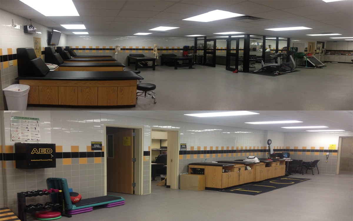 Athletic Training Room (Wagtsaff Gym)