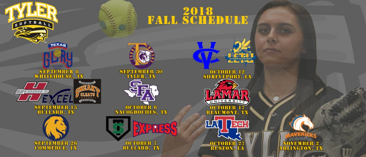 2019 Softball Roster Tyler Junior College Athletics