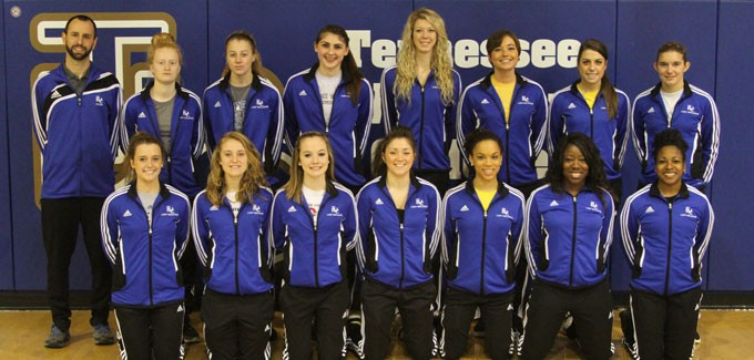 2012-13 Women's Track Team Photo