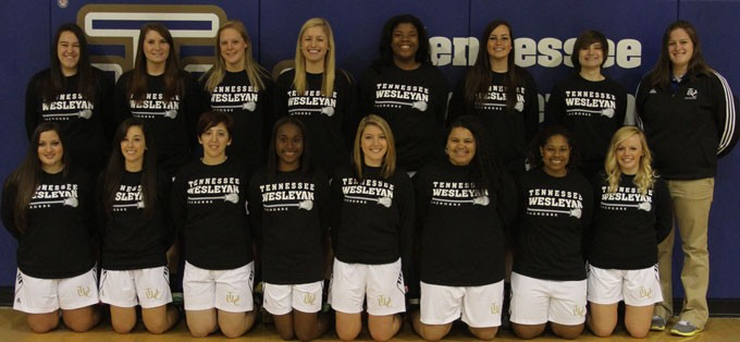 2012-13 Women's Lacrosse Team Photo