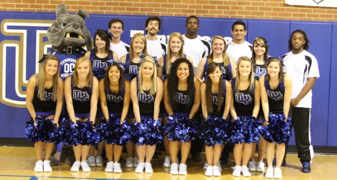 2013-14 Cheerleading Team Photo