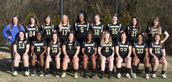 2013-14 Women's Lacrosse Team Photo