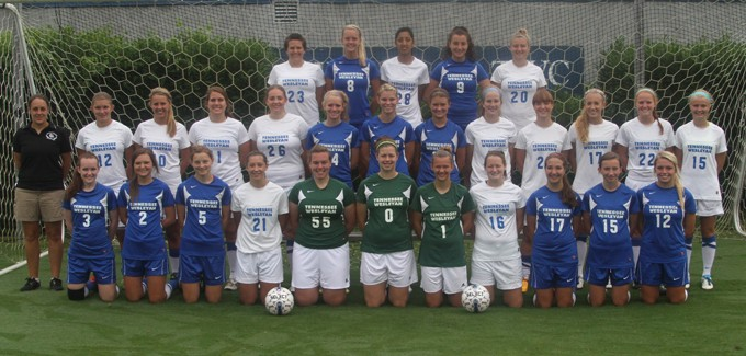 2013 Women's Soccer Team Photo