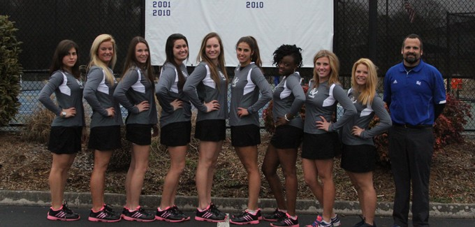 2014 Women's Tennis Team Photo