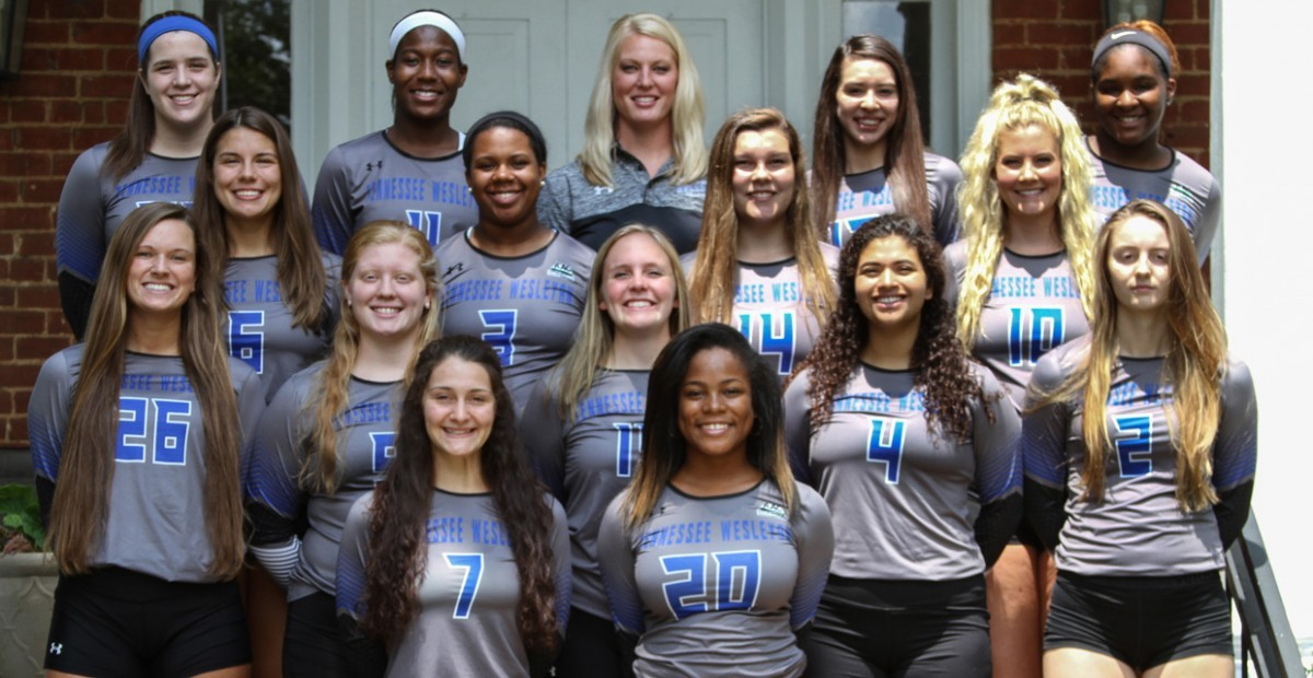 2017 Volleyball Team Photo