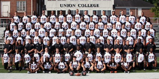 2011 Football Roster Union College Athletics