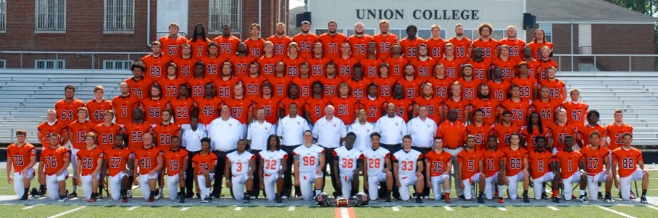 2015 Football Roster Union College Athletics