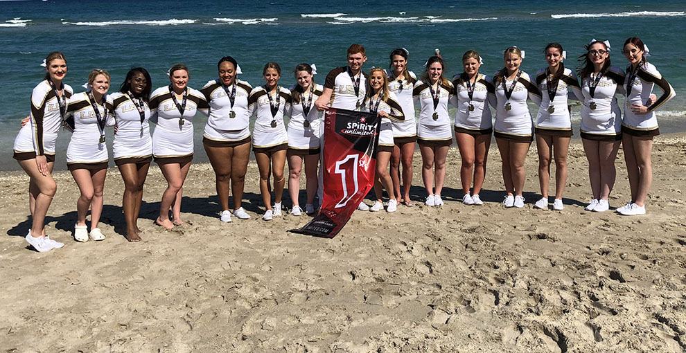Photo For Cheer Finishes First At Sunshine Championship