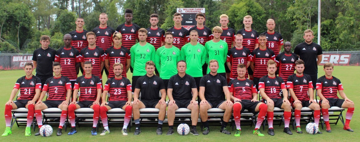 2017 Men's Soccer Roster Team Photo