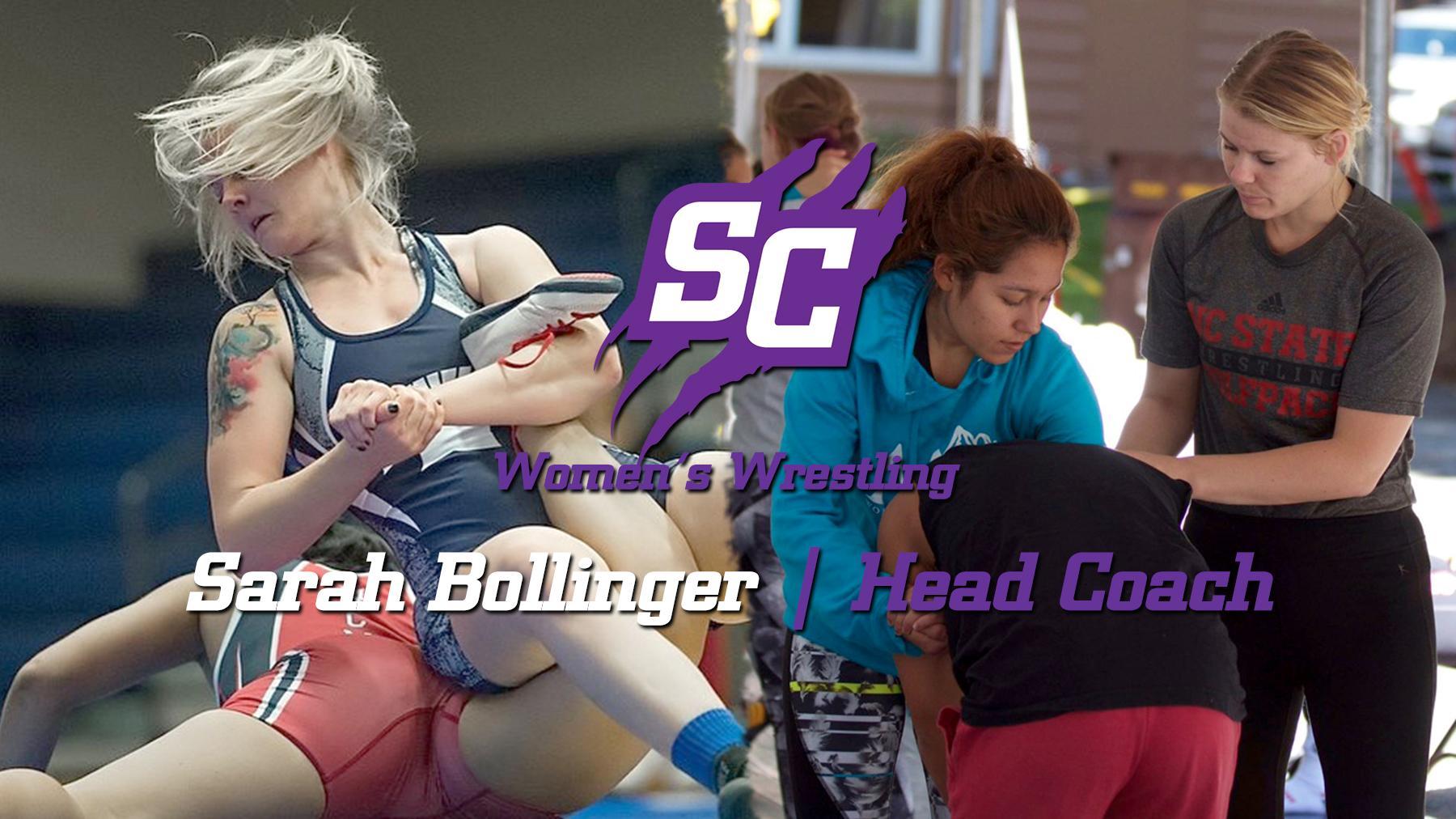 Sarah Bollinger Named Women's Wrestling Head Coach | Southwestern