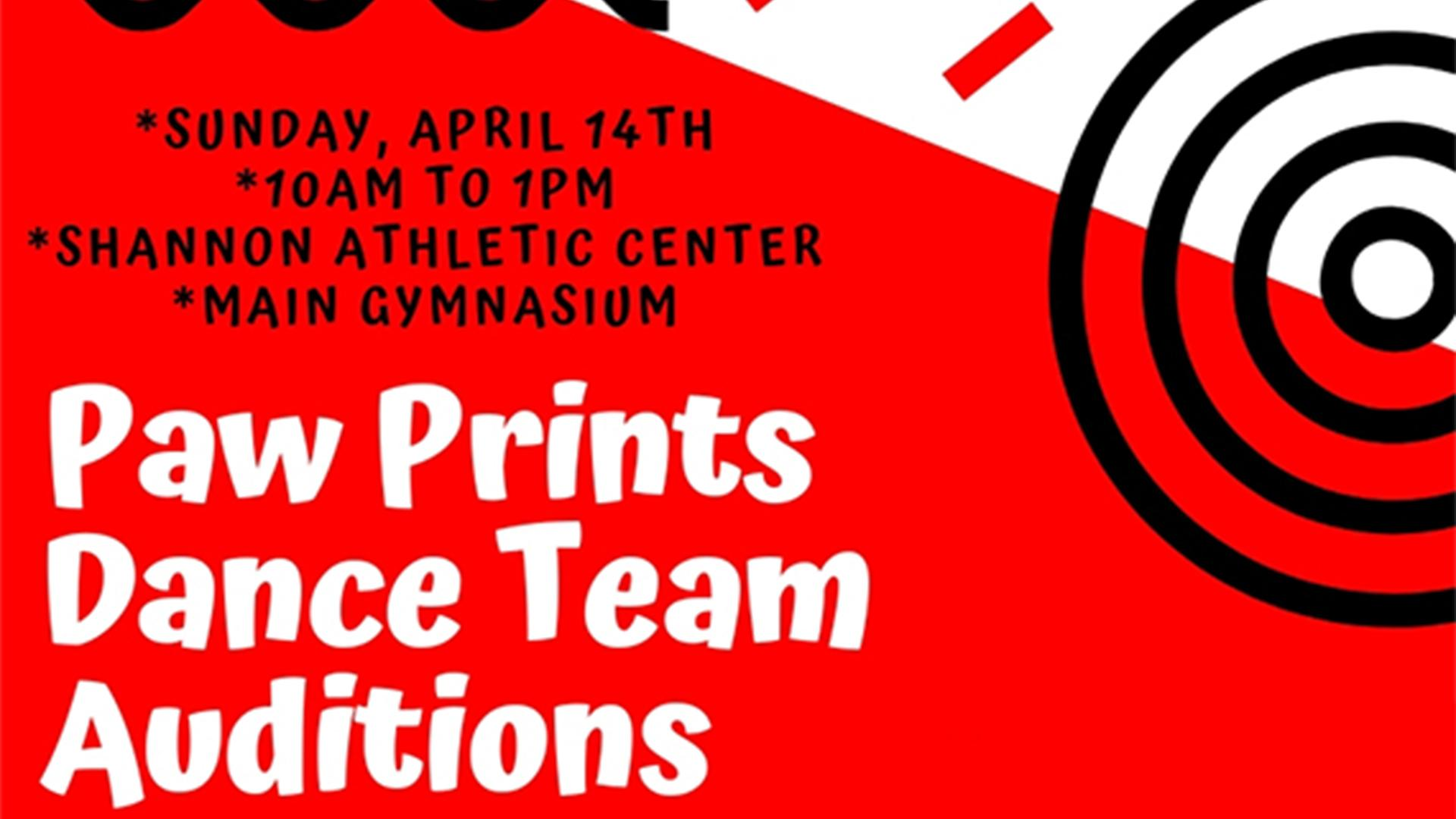 Paw Prints Dance Team Tryouts To Be Held April 14 Saint Xavier